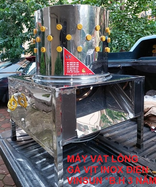 Máy Vặt Lông Gà Vịt Bằng Điện 50 Cm VinSun