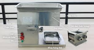 Máy Thái Thịt Đa Năng QX-250 Tùy Thay Lưới Dao