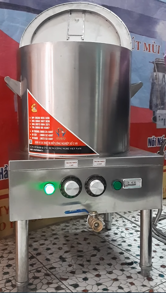 Nồi Phở Điện Inox 30 Lít Bền Đẹp Việt Nam