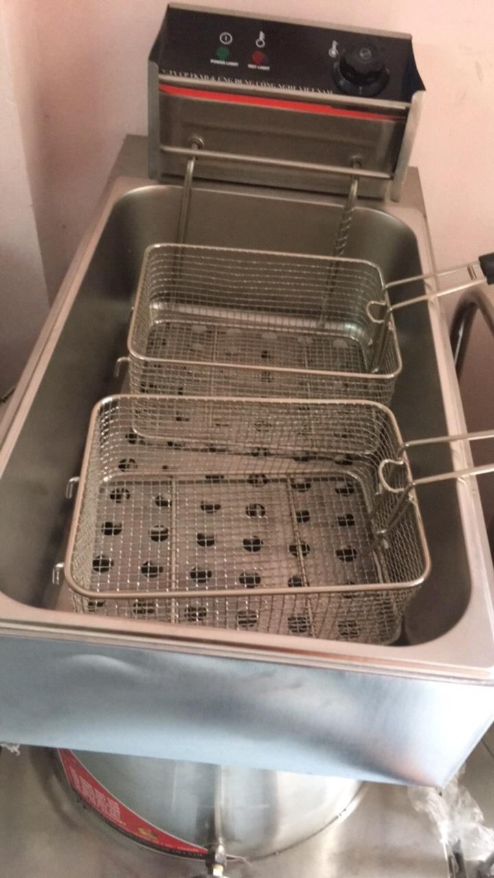 Bếp chiên nhúng điện 12 Lít VinSun
